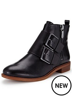 clarks-taylor-storm-buckle-ankle-boot