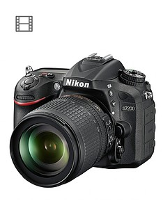 nikon-d7200-242-megapixel-dslr-camera-18-105mm-lens-black-save-pound100-with-voucher-code-lxjy3