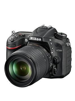 Nikon D7200 24.2 Megapixel Dslr Camera  18105Mm Lens  Black