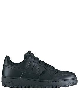 Nike Nike Air Force 1 '07 Trainers - Black Picture