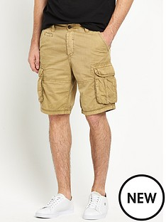 river-island-blizzard-cargo-twill-short