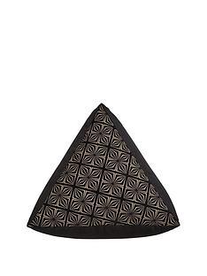 samba-triangle-pouffe-black