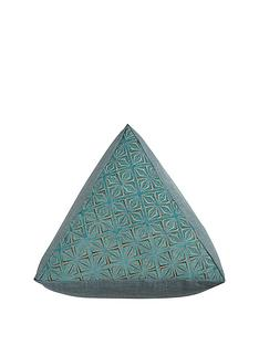 samba-triangle-pouffe-ndash-teal