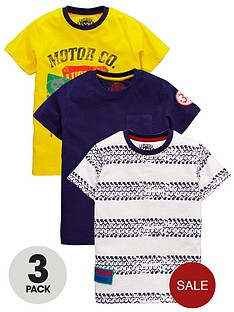 ladybird-ladybird-boys-motor-cross-t-shirts-3-pack