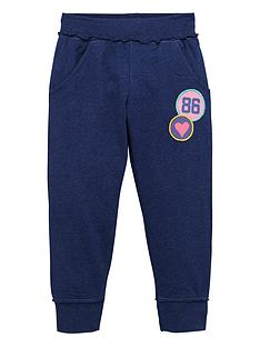 ladybird-toddler-girls-essential-blue-marl-joggers-1-7-years