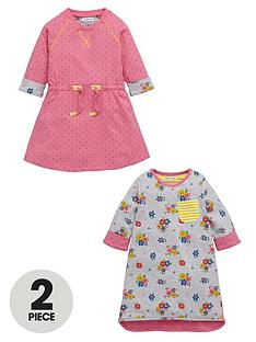 ladybird-girls-spot-and-floral-dresses-2-pack-12-months-7-years