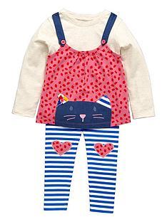 ladybird-girls-appliqueampnbspcat-pinafore-t-shirt-and-leggings-3-piece-set-12-months-7-years