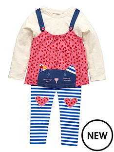 ladybird-girls-appliqueampnbspcat-pinafore-t-shirt-and-leggings-3-piece-set-12-months-7-years