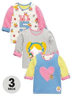 ladybird-girls-high-5-long-sleevenbspt-shirts-3-pack-nbsp12-months-7-years