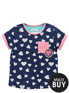 ladybird-toddler-girls-navy-marl-heart-print-tshirt-1-7-years