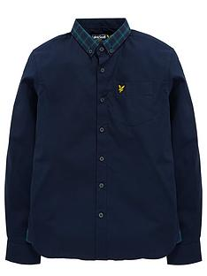 lyle-scott-lyle-amp-scott-check-collar-ls-shirt