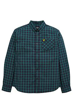 lyle-scott-lyle-amp-scott-long-sleeve-check-shirt