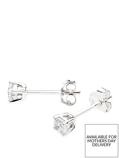 love-diamond-9-carat-white-gold-25-point-diamond-solitaire-earrings