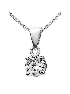 love-diamond-9ct-white-gold-50-point-diamond-solitaire-pendant