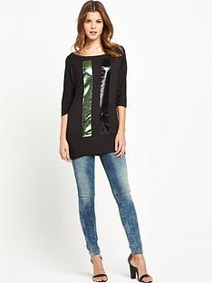 replay-oversized-t-shirt-with-stripe-detail