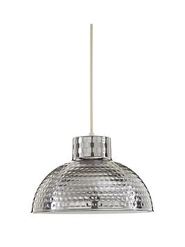 hammered-dome-easy-fit-pendant