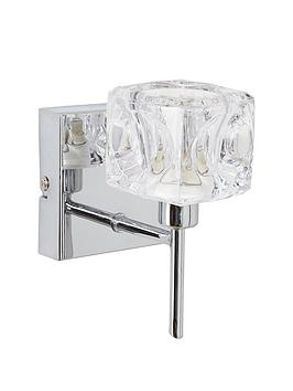 ice-cube-square-wall-light