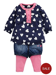 ladybird-baby-girls-heart-tunic-denim-shorts-and-leggings-3-piece-set