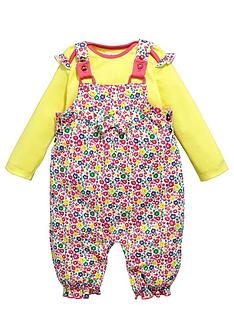 ladybird-baby-girls-ditsy-floral-jersey-dungarees-and-t-shirt-set-2-piece