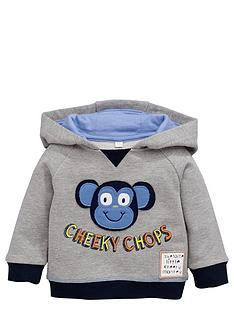 ladybird-baby-boys-cheeky-chops-textured-hoodie