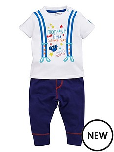 ladybird-baby-boys-printed-little-monkey-t-shirt-and-joggers-set-2-piece