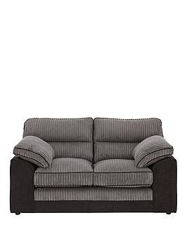 Very Delta 2 Seater Fabric Sofa Picture
