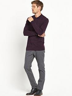 ben-sherman-ben-sherman-long-sleeve-knitted-polo