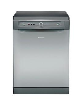 Hotpoint Aquarius Fdyb10011G 13Place Fullsize Dishwasher  Graphite