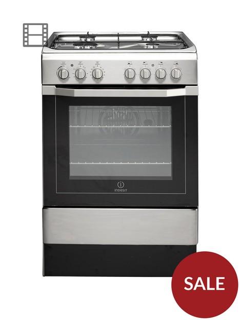 indesit-i6g52x-60-cm-single-oven-dual-fuel-cooker