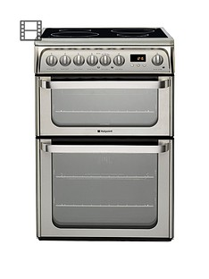 hotpoint-ultima-hui611x-60cm-double-oven-electric-cooker-with-induction-hob-stainless-steel