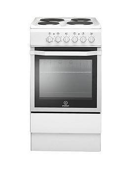 indesit-i5eshw-50cm-single-oven-electric-cooker-white