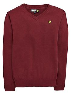 lyle-scott-lyle-amp-scott-vee-neck-knit