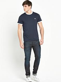 fred-perry-pique-ringer-mens-t-shirt