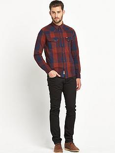 wrangler-wrangler-heritage-western-denim-shirt