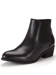 shoe-box-shoe-boxampnbsppia-leather-low-heel-elastic-boot-black