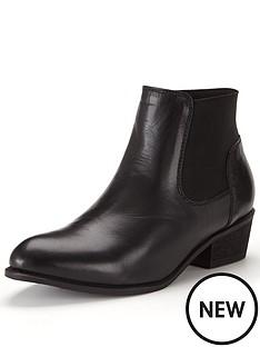 shoe-box-shoe-boxampnbsppia-leather-low-heel-elastic-boot-black