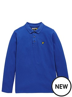lyle-scott-long-sleeve-classic-boys-polo
