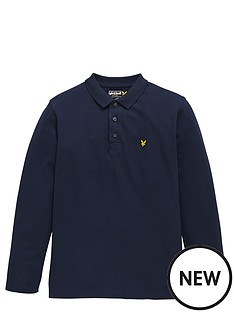 lyle-scott-long-sleeve-classic-polo
