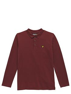 lyle-scott-lyle-amp-scott-long-sleeve-classic-polo-shirt