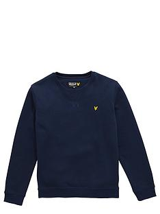 lyle-scott-lyle-amp-scott-boys-crew-neck-jumper