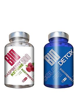 Bio Synergy   Body Perfect Colon Cleanse Detox And Raspberry Ketones (60 Capsules Of Each)