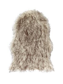 dip-dye-faux-fur-rug-double