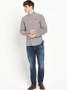 fred-perry-oxford-gingham-shirt