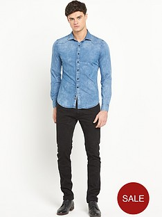 replay-long-sleevenbspdenim-shirt