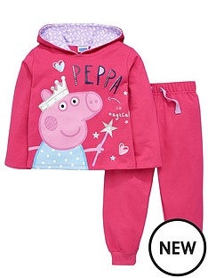 peppa-pig-little-girls-peppanbsppig-hoodie-and-joggers-set-2-piece