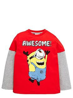 minions-boys-minions-mock-layer-long-sleeve-t-shirt