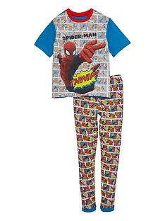 spiderman-boys-cuffed-pyjamas