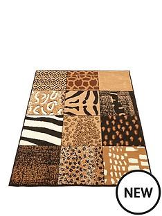 check-safari-rug