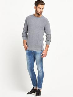 goodsouls-ribbed-sweat-grey-marl