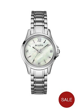 bulova-diamond-and-mother-of-pearl-dial-stainless-steel-bracelet-ladies-watch